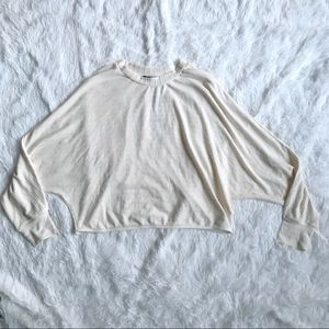 DYNAMITE NWT Bat Wing Top Crop Sweater